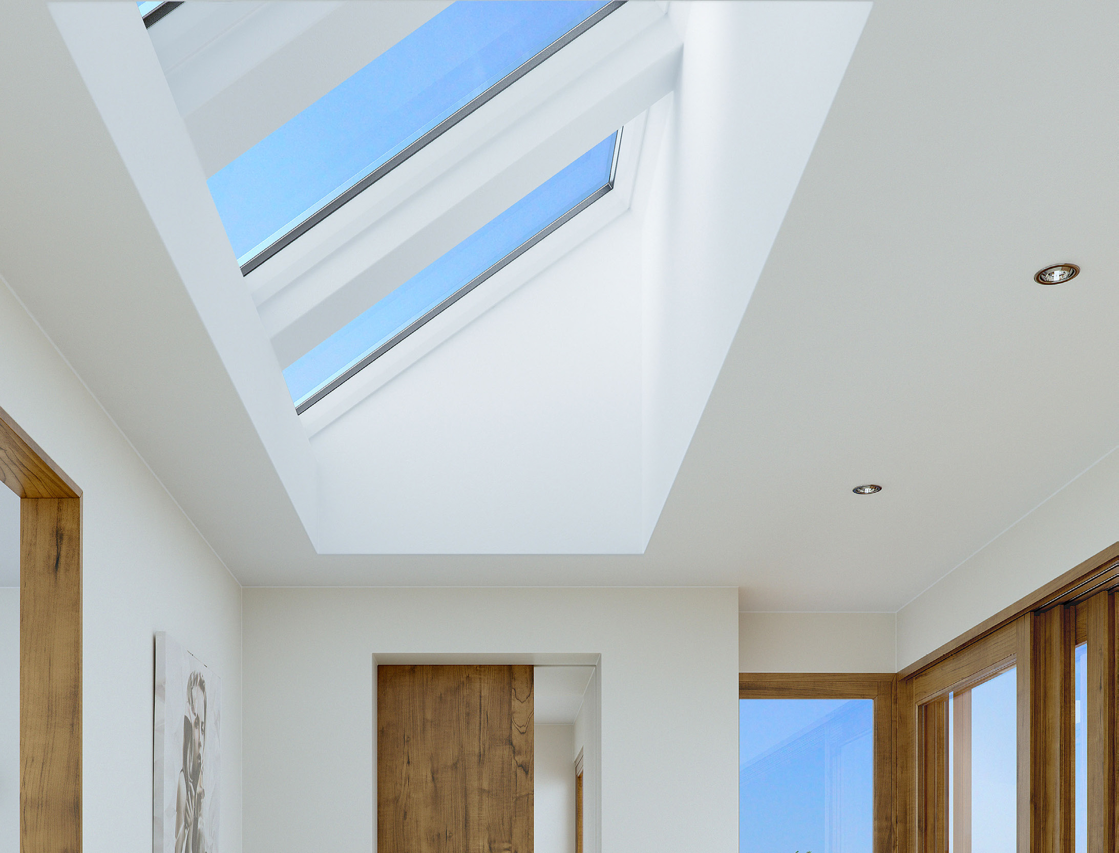 Electric Skylight Product Hero Keylite Skylights