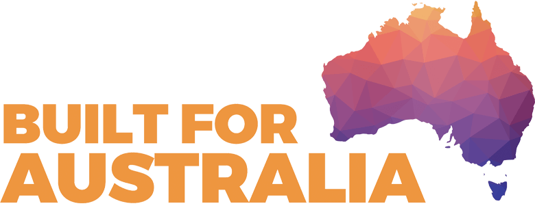 built for Australia Logo